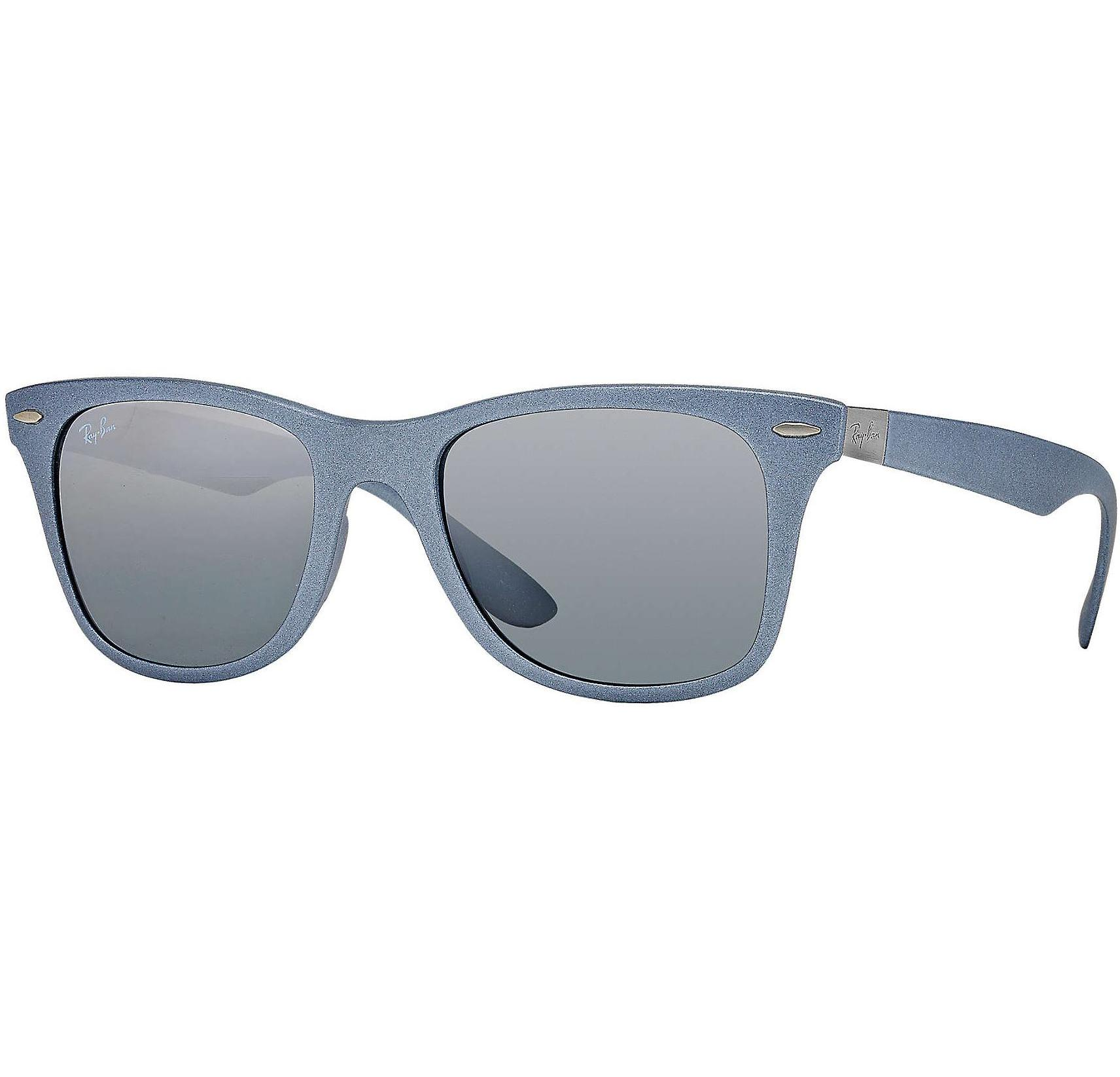 03ba4321b Buy Ray-ban Wayfarer Liteforce Silver Grey/grey Gradient Mirror Lens ...
