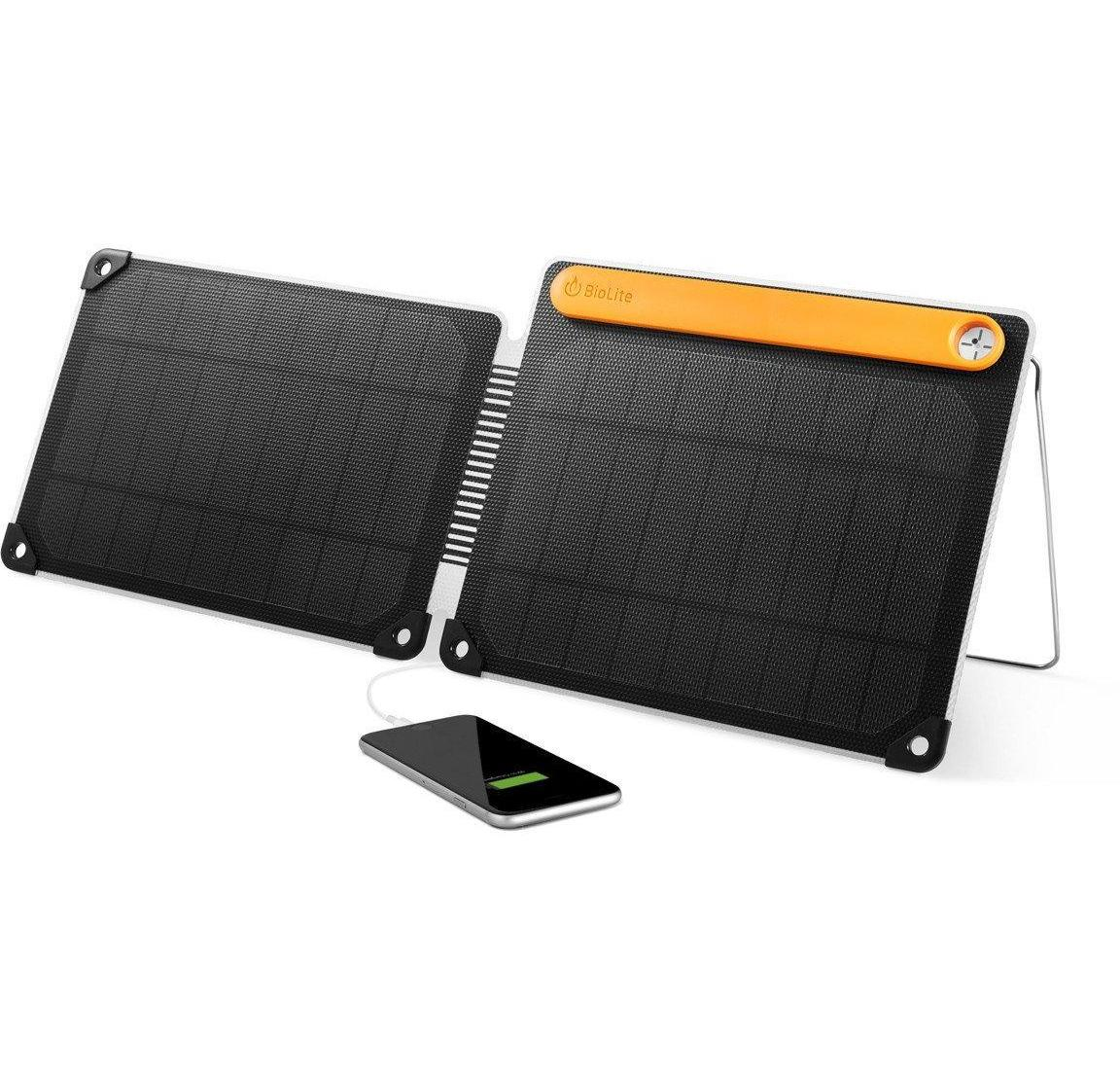 BioLite Solar Panel 10+ Charger with Charge Input and USB Outputs